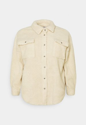 NMSAKIRAN LONG SHACKET - Summer jacket - eggnog