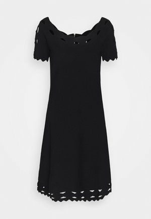 KYHL TWIST TRIM FLARE DRESS - Jumper dress - black