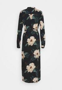 Vero Moda - VMSIMPLY EASY LONG DRESS - Blusenkleid - black/multi coloured - 1