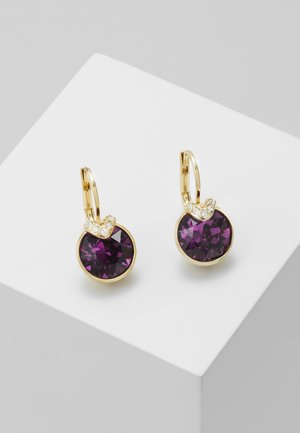 BELLA  DROP - Earrings - gold-coloured/lilac