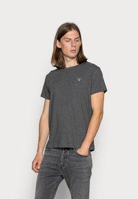 GANT - ORIGINAL - T-shirt - bas - anthracite - 0