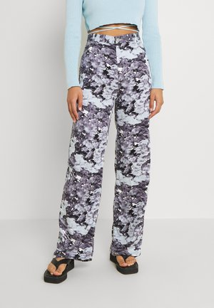 ANGELICA TROUSERS - Kalhoty - blue