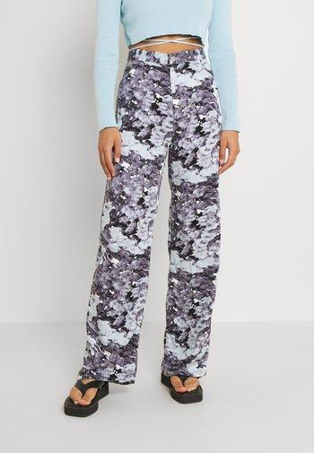 ANGELICA TROUSERS - Pantaloni - blue