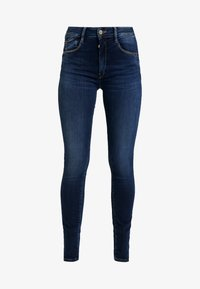 Le Temps Des Cerises - PULPHISL - Slim fit jeans - blue - 4