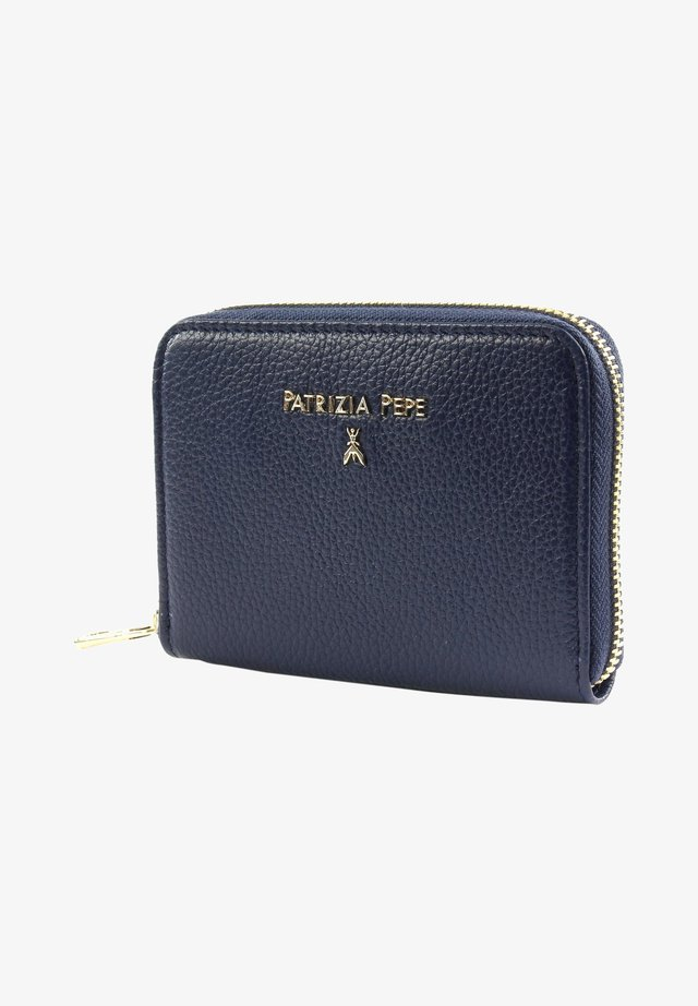 Wallet - dress blue