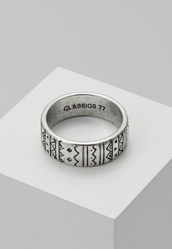 AZTECA BAND - Ringar - silver-coloured