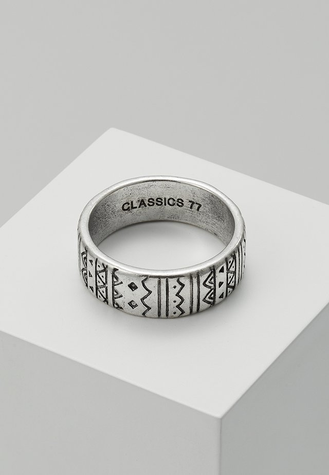 AZTECA BAND - Ring - silver-coloured