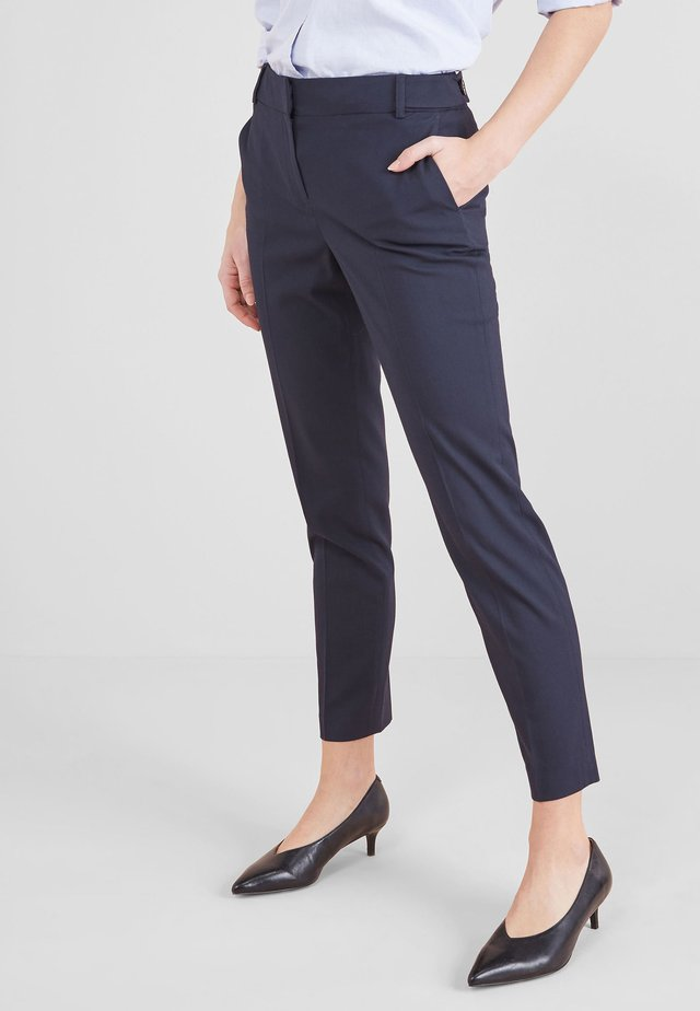 TAILORED SLIM -PETITE - Trousers - blue