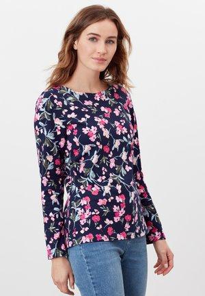 HARBOUR  - Long sleeved top - marineblau floral