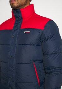 Tommy Jeans - CORP JACKET - Winter jacket - twilight navy - 3