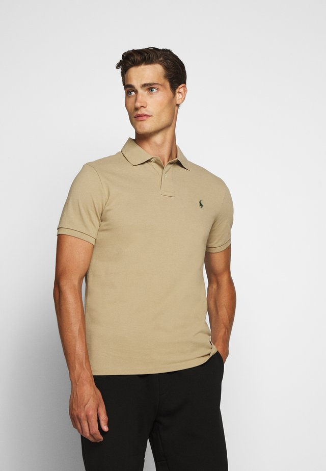 Polo shirt - boating khaki