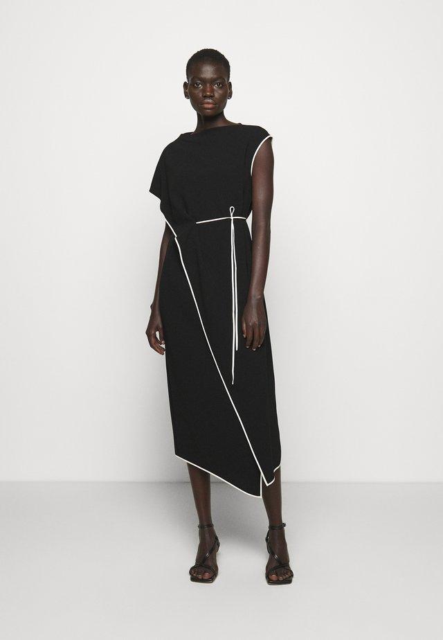 DRAPE ADMIRAL - Robe d'été - black