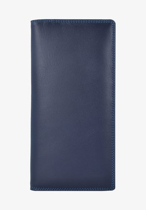 Portefeuille - mottled dark blue