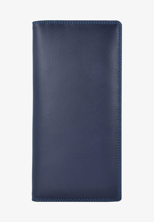 Wallet - mottled dark blue