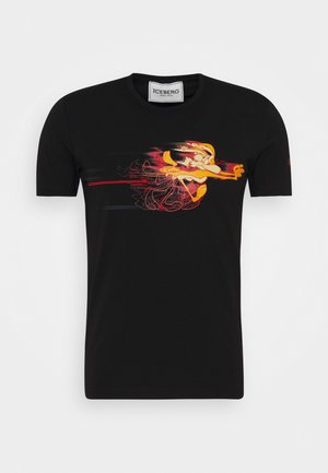 TWEETIE SQUARE - Print T-shirt - nero
