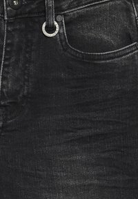 PULZ - PZLIVA  - Flared Jeans - black denim - 6