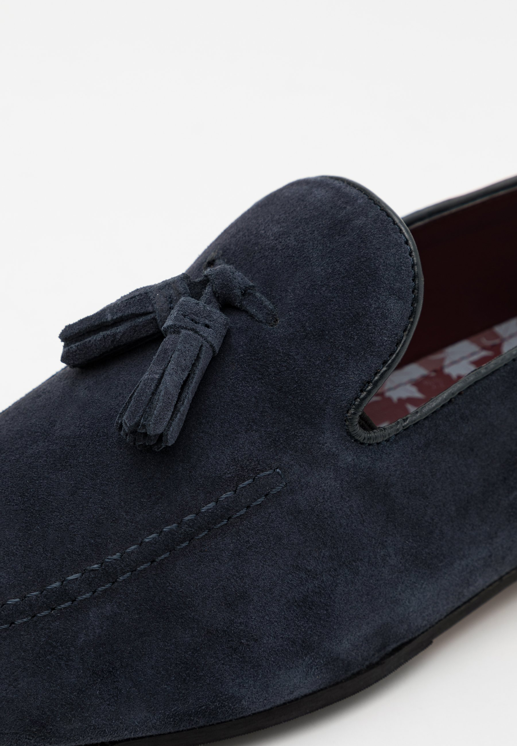 Walk London TERRY TASSEL LOAFER Pensko blue grey