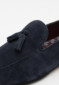 Walk London - TERRY TASSEL LOAFER - Mocassins - blue-grey - 5
