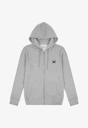 SIGN OFF ZIPTHRU - Zip-up sweatshirt - mid grey mel