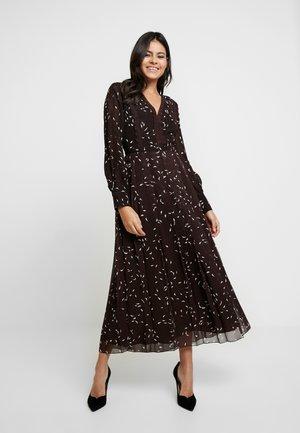 Maxi dress - dark chocolate
