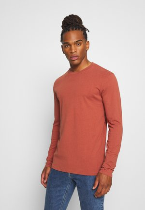 KVIST - Long sleeved top - baked clay melange