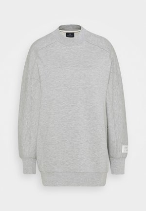 LONGER LENGTH SPECIAL SHAPED - Sweatshirt - grey melange