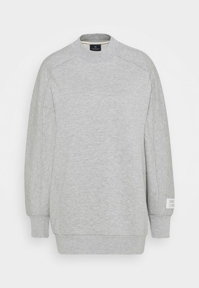 Scotch & Soda - LONGER LENGTH SPECIAL SHAPED - Sweatshirt - grey melange