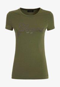 Guess - SELINA TEE - Print T-shirt - grün - 3