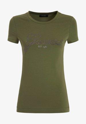 SELINA TEE - T-shirt print - grün