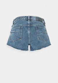 Diesel - DE-RIMY SHORTS - Denim shorts - light blue - 1