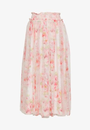 RUBY BLOOM SMOCKED BALLERINA SKIRT - A-linjekjol - pink