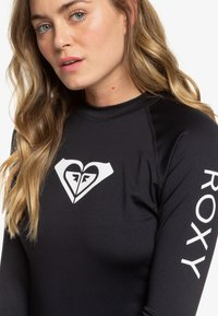 Roxy - WHOLEHEARTED - Rash vest - anthracite - 4