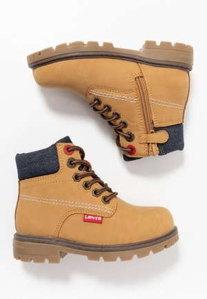 NEW FORREST MID  - Veterboots - camel/navy