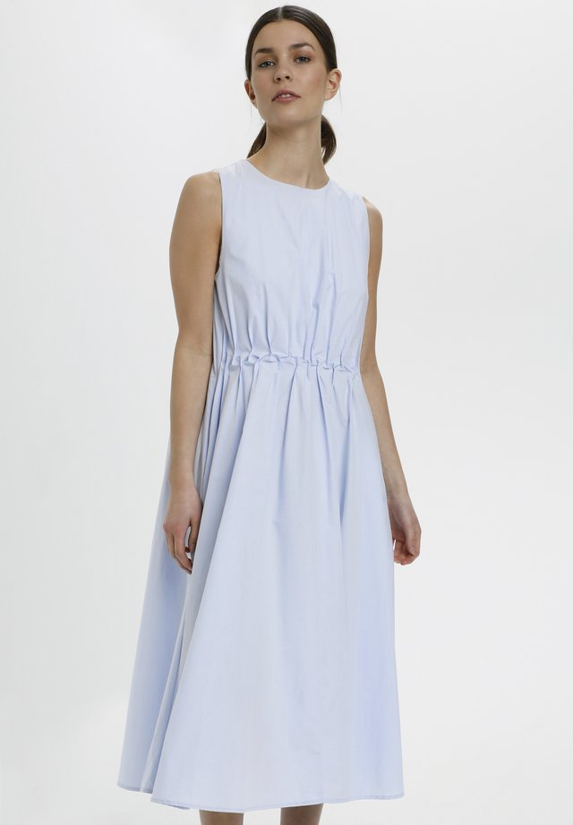Korte jurk - xenon blue