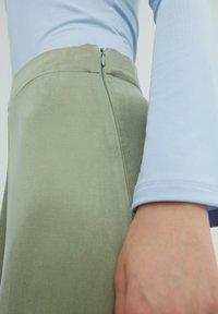 EDITED - ROCK MERCY - A-line skirt - grün - 3