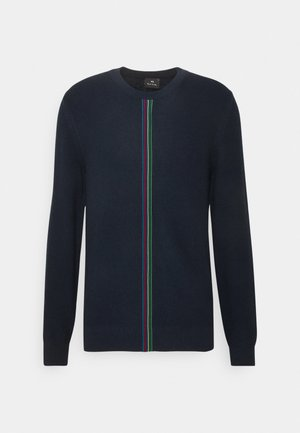 MENS CREW NECK - Trui - dark blue, red