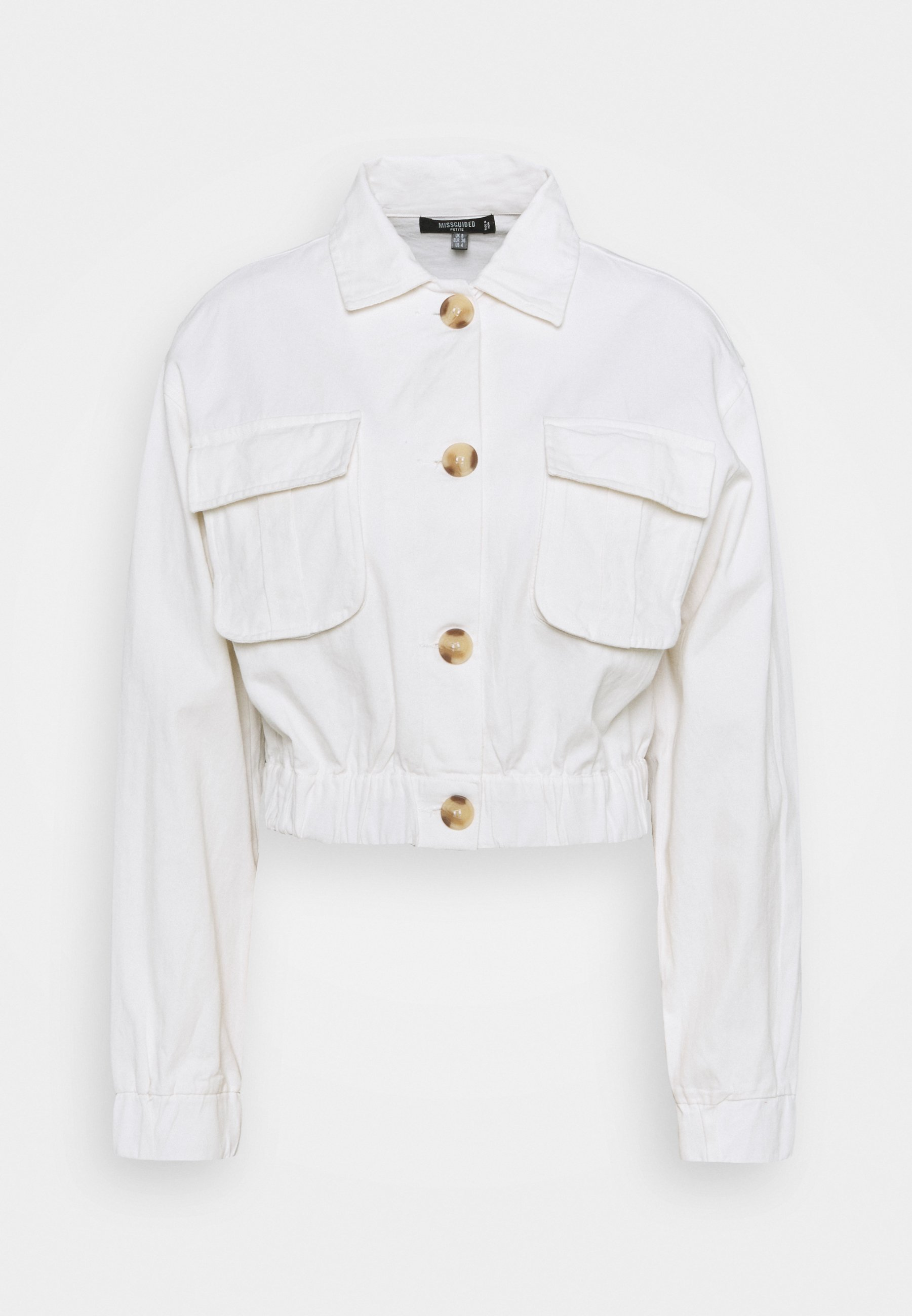 Women UTILITY POCKET SHACKET - Denim jacket