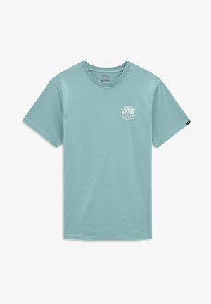 MN HOLDER STREET II - Print T-shirt - cameo blue