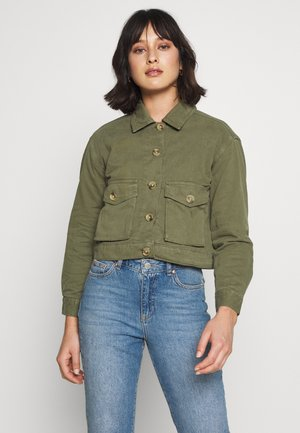 CASUAL SHACKET - Light jacket - khaki