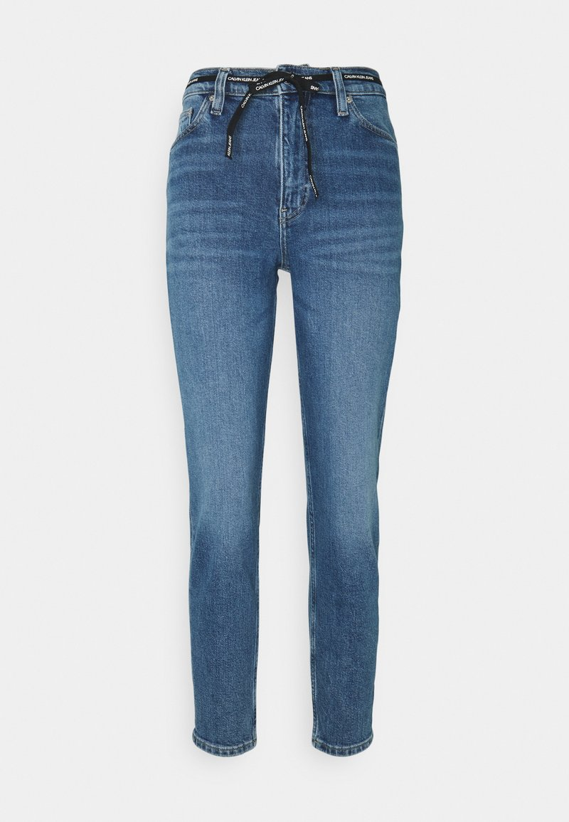 Calvin Klein Jeans - MOM - Relaxed fit jeans - mid blue