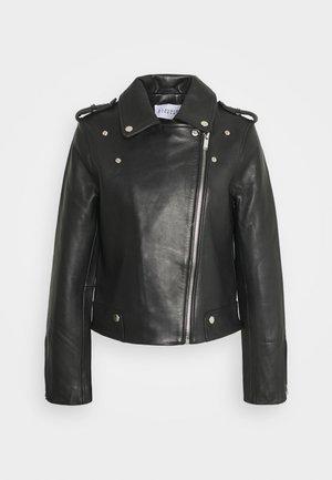 CHOUCHOU - Leather jacket - noir