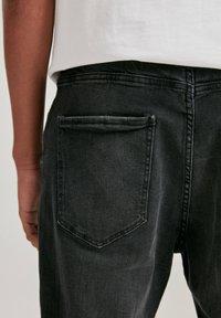 PULL&BEAR - Slim fit jeans - mottled dark grey - 4