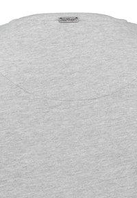Key Largo - MT SPICY DOUBLE PACK - Basic T-shirt - silver melange - 4