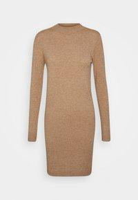 Object Petite - OBJTHESS DRESS  - Jumper dress - chipmunk melange - 0