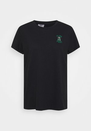 WELLTHREAD PERFECT TEE - T-shirts - nightfall black
