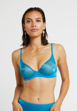 UNLINED BRA - Bøyle-BH - blue