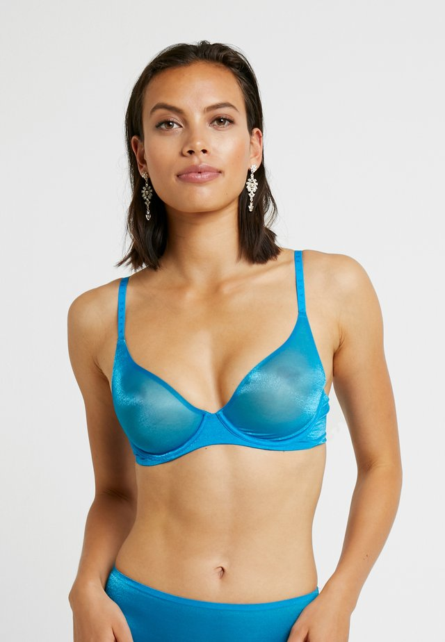 UNLINED BRA - Bügel BH - blue