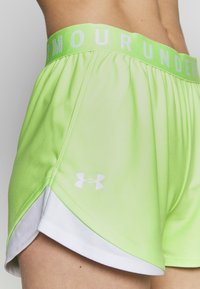 Under Armour - PLAY UP SHORTS 3.0 - Sports shorts - summer lime - 4