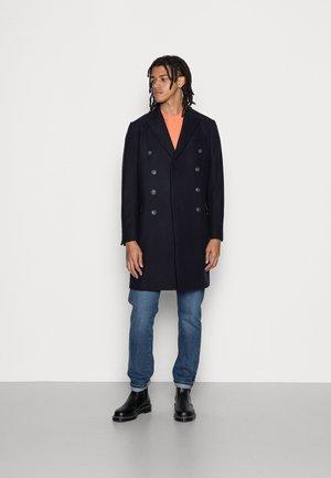 LONG PEA COAT - Klasyczny płaszcz - dark blue