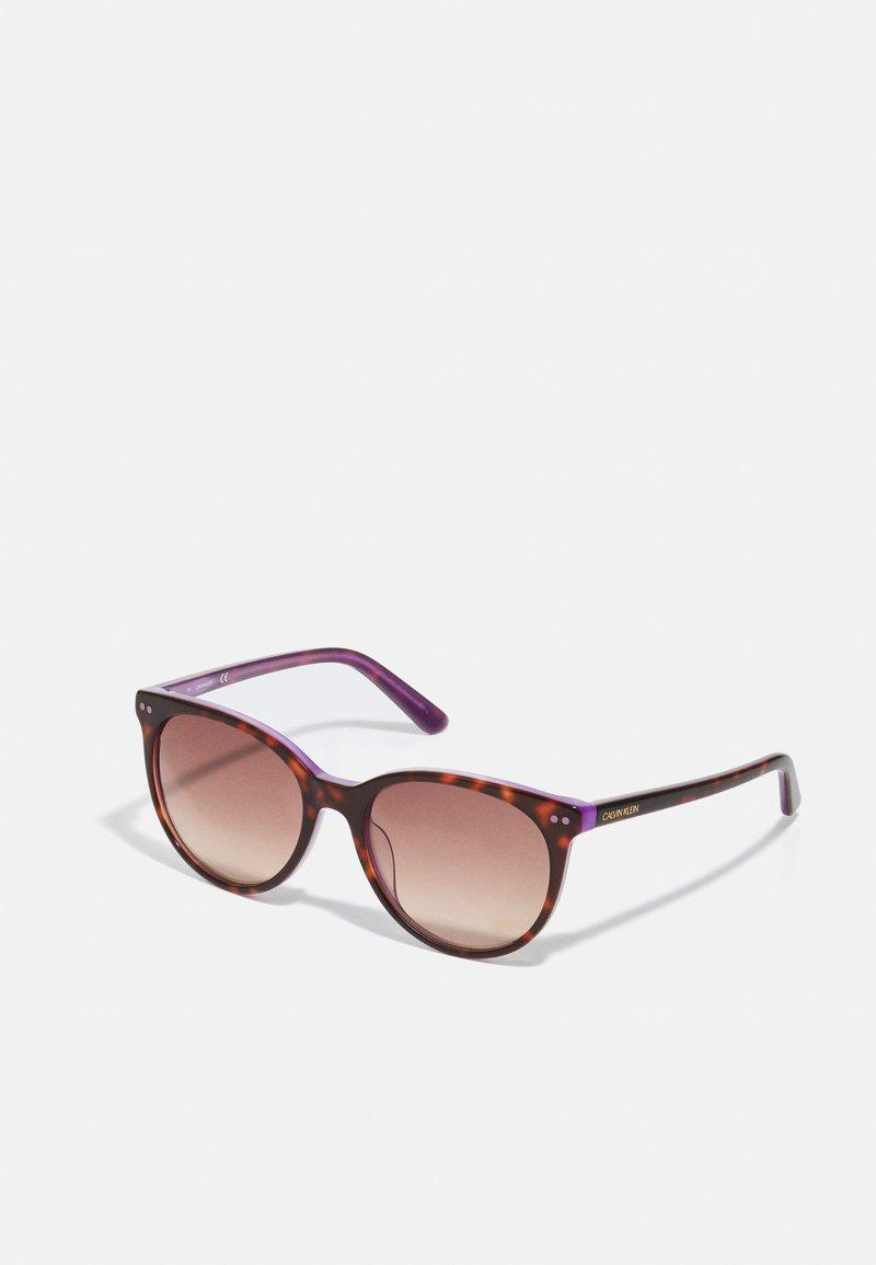 Calvin Klein - Sunglasses - tortoise/milky purple